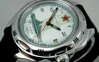 Dấu ấn mang tên đồng hồ Nga Vostok