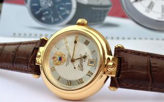 """""""Nhân tố"""" sáng giá của Poljot - Đồng hồ Nga có chữ kí Putin"""