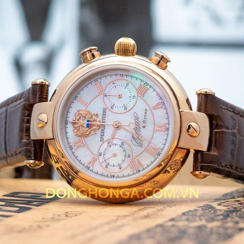Poljot President Putin Chronograph Rose Gold Limited