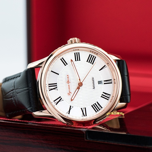 Poljot President White Rose Gold