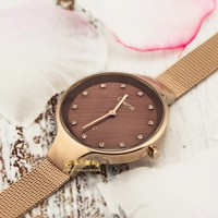 Poljot Charm Brown Gold