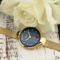 Poljot Charm Blue Gold