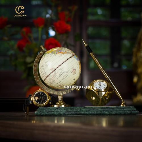 Đồng hồ để bàn - Địa cầu