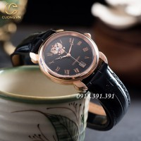 Poljot President Rose Gold Black