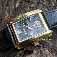 Poljot president Square Black Limited