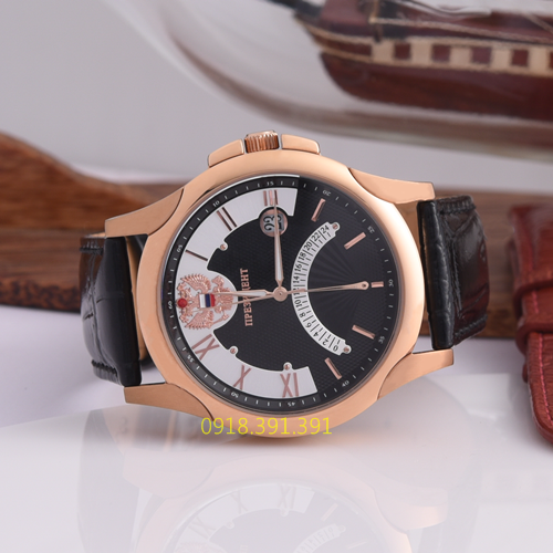 Poljot President Curved Rose Gold