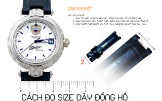 Hướng dẫn đo size dây đồng hồ đơn giản nhất